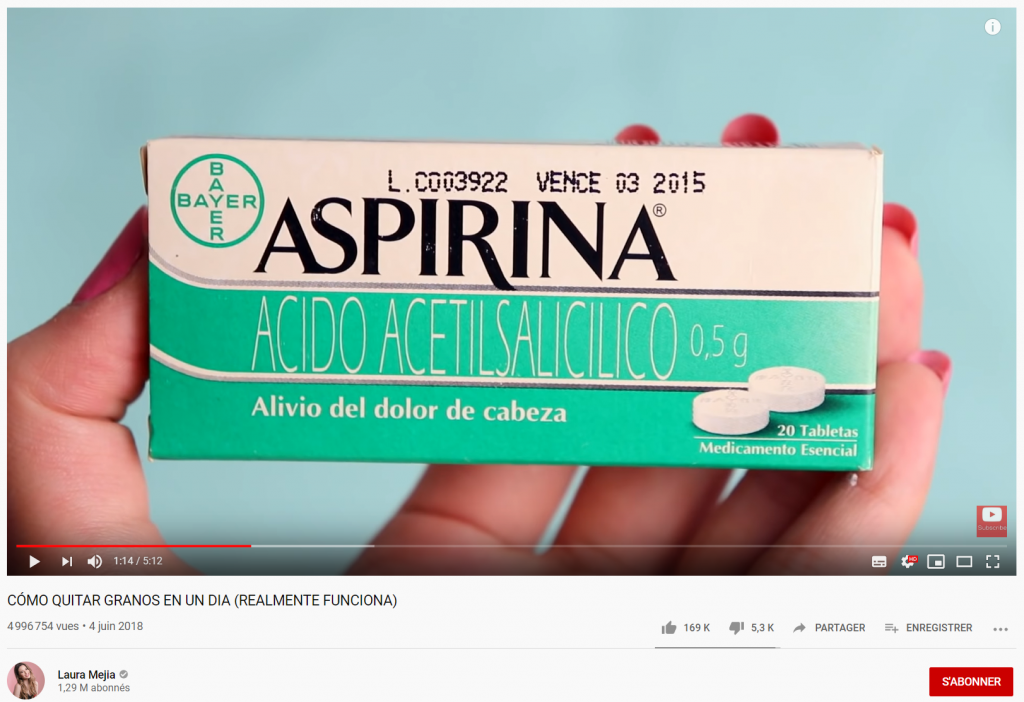 Pharma companies are using influencers and micro-influencer agencies to promote their skin care products.
