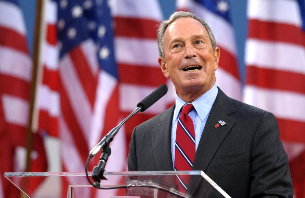 Micro-influencers are used for the election in the USA. For example Michael Bloomberg's campaign is supported by influencers.